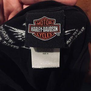 Harley-Davidson Shirts - HARLEY DAVIDSON MENS MEDIUM AUTHENTIC SHIRT FIRE